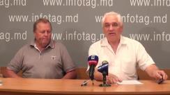 """Conferință de presă organizată de Mișcarea Social-Politică """"Ravnopravie"""" și Congresul Comunităților Ruse din Moldova cu tema """"Minoritățile susțin solicitările privind demisia președintelui, speakerului și premierului"""""""
