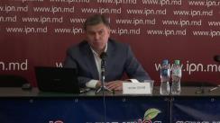 """Ședința Clubului de Presă APE cu tema """"Moldova are nevoie urgentă de o viziune nouă, realistă și ambițioasă de integrare europeană"""""""