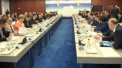 Ședință comună a Guvernelor României și Republicii Moldova (imagini protocolare)