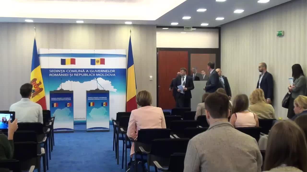 Conferință de presă susținută de prim-ministrul României, Victor Ponta, și prim-ministrul Republicii Moldova, Valeriu Streleț