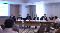 """Conferința cu tema """"Creșterea economiei românești prin dezvoltarea IMM-urilor"""""""