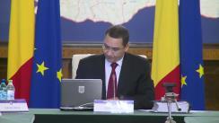 Ședința Guvernului României din 23 septembrie 2015 (imagini protocolare)