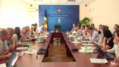 Ședința Grupului de lucru pentru reglementarea activității de întreprinzător din 23 septembrie 2015