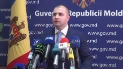 Declarațiile lui Vladimir Cebotari după ședința Guvernului Republicii Moldova din 23 septembrie 2015