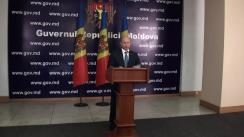 Briefing susținut de prim-ministrul Republicii Moldova după primele discuții cu misiunea FMI