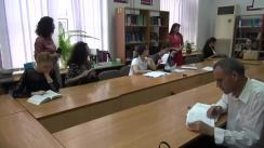 """Lecție publică organizată de Asociația Promo-LEX cu participarea Corneliei Călin, expertă în finanțe, și a Alionei Apostu, expertă electorală, cu tema """"Promovarea femeilor în politică și finanțarea partidelor politice"""""""