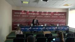 """Conferință de presă susținută de procurorul mun. Chișinău, Ion Diacov, cu tema """"Corupția în justiție"""""""
