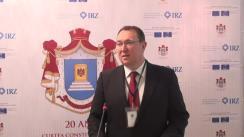 """Declarații de presă în cadrul conferinței internaționale """"Raporturile Curții Constituționale cu celelalte autorități publice"""", dedicată celei de-a 20-a aniversări a Curții Constituționale a Republicii Moldova"""