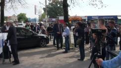 Marșul susținătorilor lui Renato Usatîi împotriva actualei guvernări criminale