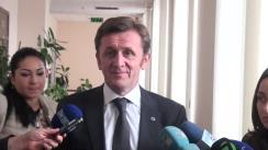Declarațiile lui Iurie Ciocan după ședința Curții de Conturi cu privire la raportul auditului conformității utilizării mijloacelor financiare publice destinate alegerilor parlamentare în anul 2014