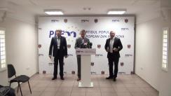 Conferință de presă susținută de președintele Partidului Popular European din Moldova, Iurie Leancă, privind situația social politică din țară