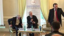 """Dezbaterea organizată de Fundația Europeană Titulescu cu tema """"Femeile și spionajul în Primul Război Mondial"""""""