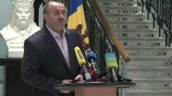 Briefing organizat de Calea Ferată din Moldova privind lansarea cursei feroviare Chișinău-Iași