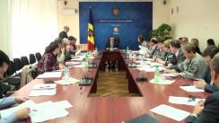 Ședința Grupului de lucru pentru reglementarea activității de întreprinzător din 30 septembrie 2015
