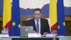 Ședința Guvernului României din 30 septembrie 2015 (imagini protocolare)
