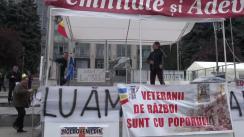 """Conferință de presă susținută de protestatarii Platformei Civice """"Demnitate și Adevăr"""""""