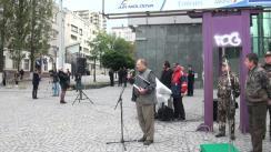 Mitingul de protest al Societății Vânătorilor și Pescarilor din Moldova