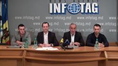 """Conferință de presă cu tema """"Propunerile Partidului Societății Progresiste de prevenire a pericolelor care ne pot aștepta pe viitor în Republica Moldova"""""""