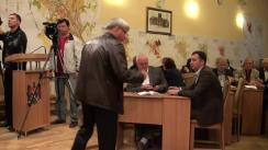 Ședința săptămânală a serviciilor primăriei Chișinău din 5 octombrie 2015