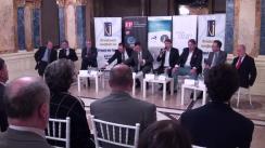 """Dezbaterea organizată de Fundația Universitară a Mării Negre și New Strategy Center cu tema """"Republica Moldova: Ultima noapte de iluzii, întâia zi de realism"""""""