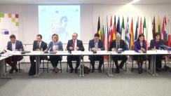 """Dezbaterea organizată de Biroul de Informare al Parlamentului European în România cu tema """"România și Extinderea Uniunii Europene în Balcanii de Vest"""""""