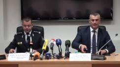 """Conferință de presă organizată de Inspectoratul General al Poliției cu tema """"Droguri în valoare de peste un milion de euro, depistate de poliție"""""""