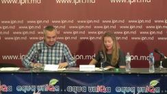 """Conferință de presă organizată de Asociația Tinerilor Artiști Oberliht """"Lansarea Zilelor Spațiului Public 2015 la Chișinău (6 – 10 octombrie)"""""""