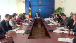 Ședința Grupului de lucru pentru reglementarea activității de întreprinzător din 7 octombrie 2015