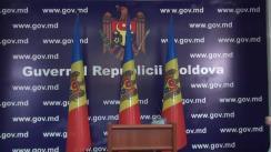 Briefing susținut de prim-ministrul Valeriu Streleț, privind analiza efectuată în urma ultimei misiuni a FMI în Republica Moldova
