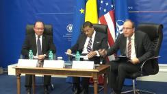 """Dezbaterea """"Dialoguri@MAE"""" cu tema """"Apărarea împotriva rachetelor balistice. Contribuția României la un proiect transatlantic strategic"""""""