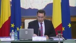 Ședința Guvernului României din 7 octombrie 2015 (imagini protocolare)