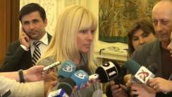 Declarație susținută de deputatul PMP, Elena Udrea