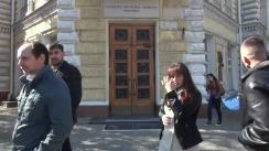 """Briefing susținut de deputații și consilierii municipali ai PSRM cu tema """"Ultimatum pentru Chirtoacă în legătură cu construcțiile neautorizate"""""""