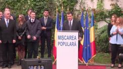 Briefing susținut de Traian Băsescu