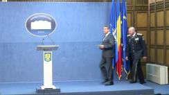 Conferință de presă susținută de ministrul Afacerilor Interne, Gabriel Oprea, privind rezultatele vizitei oficiale desfășurate în Statele Unite ale Americii
