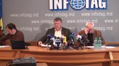 """Conferință de presă organizată de Asociația Sociologilor și Demografilor din Republica Moldova cu tema """"Rezultatele studiului sociologic. Situația social-politică din Republica Moldova în opinia protestatarilor, experților și populației"""""""