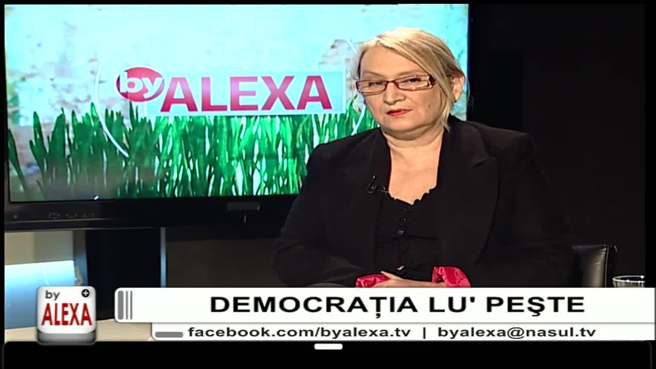 "Emisiunea ""By Alexa"" cu Alexa Ionescu"