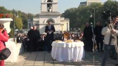 Inaugurarea festivă a Hramului orașului Chișinău