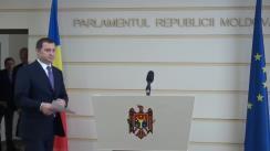 Declarațiile lui Vlad Filat în timpul ședinței Parlamentului din 15 octombrie 2015