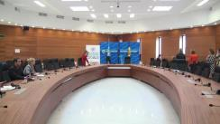 Conferință de presă susținută de ministrul Afacerilor Externe al Republicii Moldova, Natalia Gherman, și coordonatorul rezident ONU, reprezentantul permanent PNUD în Republica Moldova, Dafina Gercheva