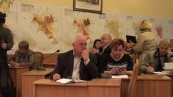 Ședința săptămânală a serviciilor primăriei Chișinău din 19 octombrie 2015
