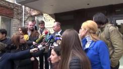 Declarațiile lui Valeriu Streleț după ședința Consiliului Național Politic al PLDM din 16 octombrie 2015