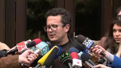 Declarațiile lui Vadim Pistrinciuc după ședința Consiliului Național Politic al PLDM din 16 octombrie 2015