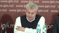 """Conferință de presă susținută de președintele AO """"Centrul de Inițiative și Monitorizare a Autorităților Publice"""", Ion Dron, cu tema """"Scena politică din Republica Moldova este privatizată"""""""
