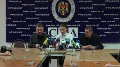 Conferință de presă organizată de Centrul Național Anticorupție privind dosarul în care este învinuit deputatul Vlad Filat