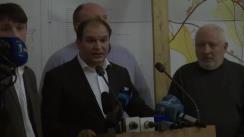 Conferință de presă susținută de fracțiunea PSRM în Consiliul Municipal Chișinău și deputații PSRM