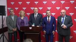 Declarații de presă susținute de parlamentarii Iulian Popescu, Camelia Bogdănici, Marin Burlea și secretarul de stat în Ministerul Sănătății, Alin Țucmeanu, pe teme din domeniul sănătății