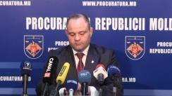 """Conferință de presă cu tema """"Procuratura sectorului Rîșcani al Capitalei prezintă date privind situația criminogenă din sector și detalii pe marginea celor mai de rezonanță cazuri instrumentate în cursul primelor 9 luni ale acestui an"""""""