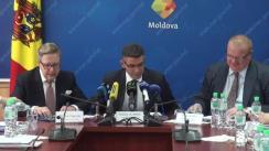 """Conferința de presă privind lansarea oficială a proiectului """"Asistență tehnică pentru implementarea ZLSAC în Republica Moldova"""""""