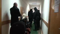 Ședința de judecată privind prelungirea arestului a lui Ion Rusu în dosarul Caravita